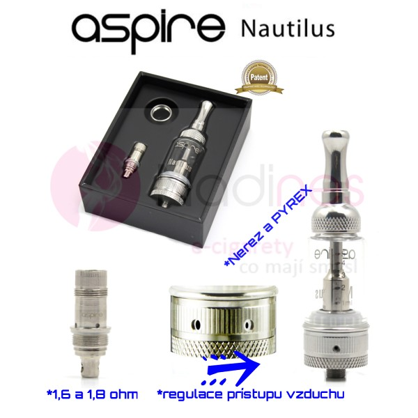 ASPIRE NAUTILUS BVC 5 ml clearomizer