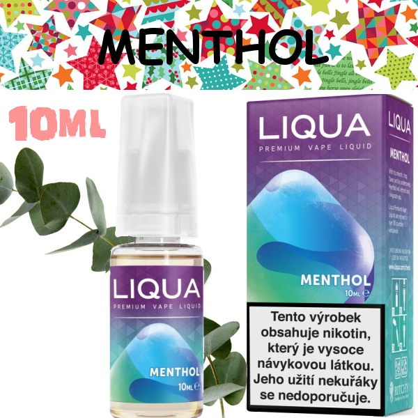 Liquid LIQUA Elements Menthol 10ml / 0mg