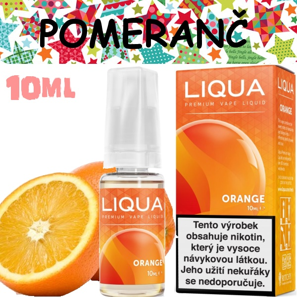 Liquid LIQUA Elements Orange 10ml / 0mg