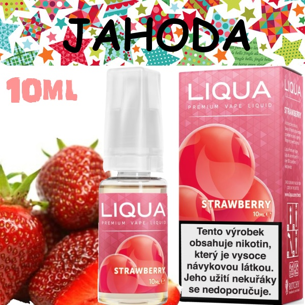 Liquid LIQUA Elements Strawberry 10ml / 0mg