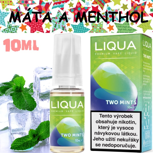 Liquid LIQUA Elements Two mints 10ml / 12mg