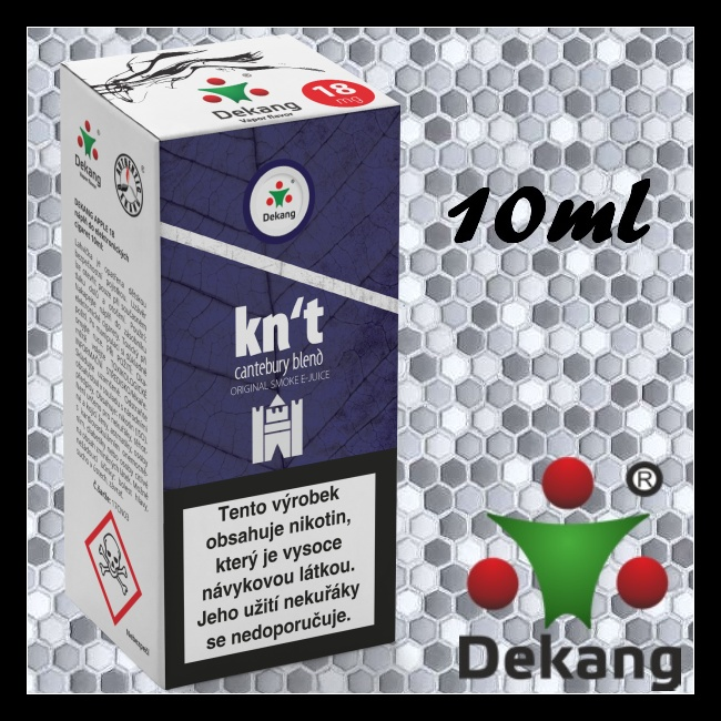 Liquid DEKANG Classic Kn´t - cantebury blend 18mg / 10ml