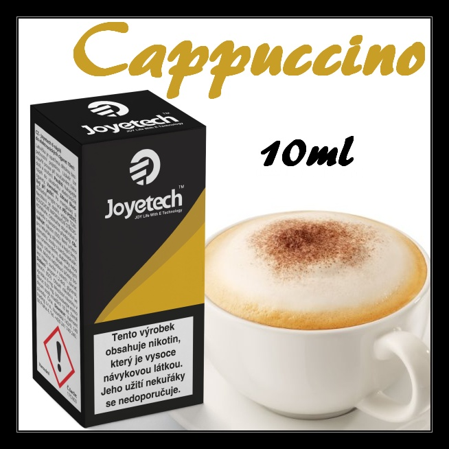 Liquid Joyetech Cappuccino 10ml - 16 mg
