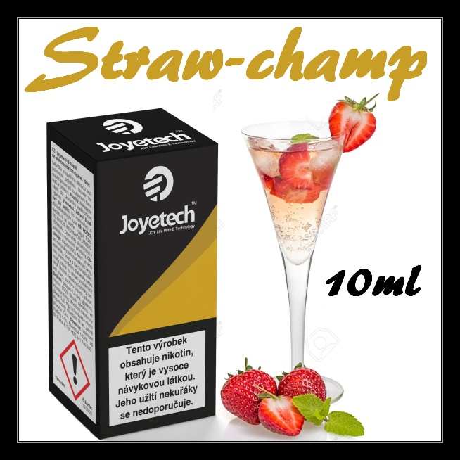 Liquid Joyetech  Straw-champ  10ml - 16 mg
