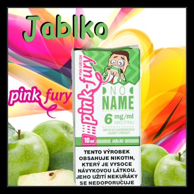 E-liquid Pink Fury Jablko 3mg / 10ml