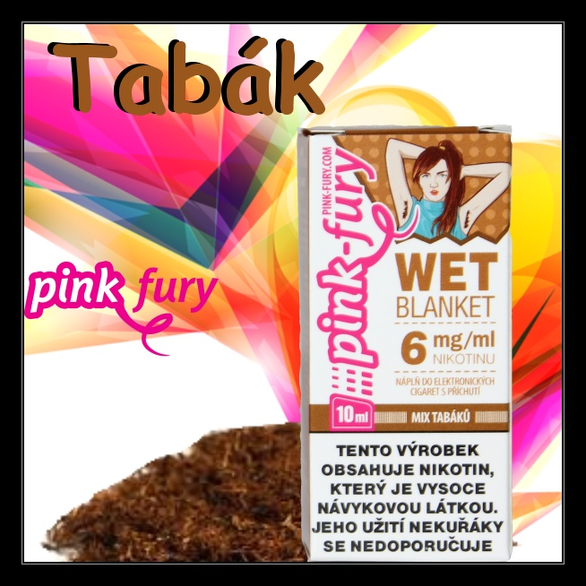 E-liquid Pink Fury Tabák 18mg / 10ml