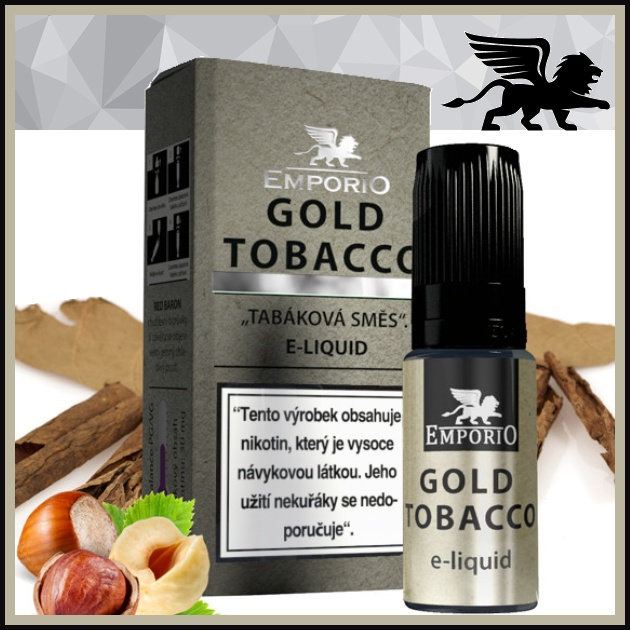 E-liquid EMPORIO Gold Tabacco 1,5mg / 10ml