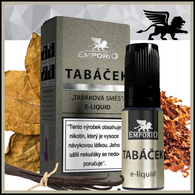 E-liquid EMPORIO Tabáček 6mg / 10ml