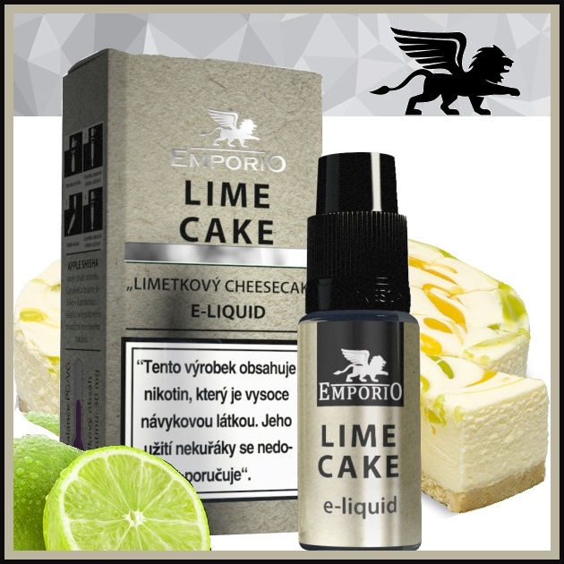 E-liquid EMPORIO Lime cake 12mg / 10ml