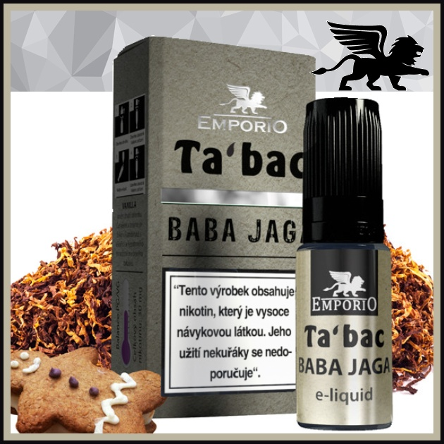 E-liquid EMPORIO Baba Jaga 12mg / 10ml