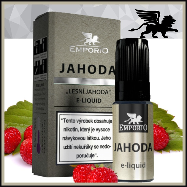 E-liquid EMPORIO Jahoda 15mg / 10ml