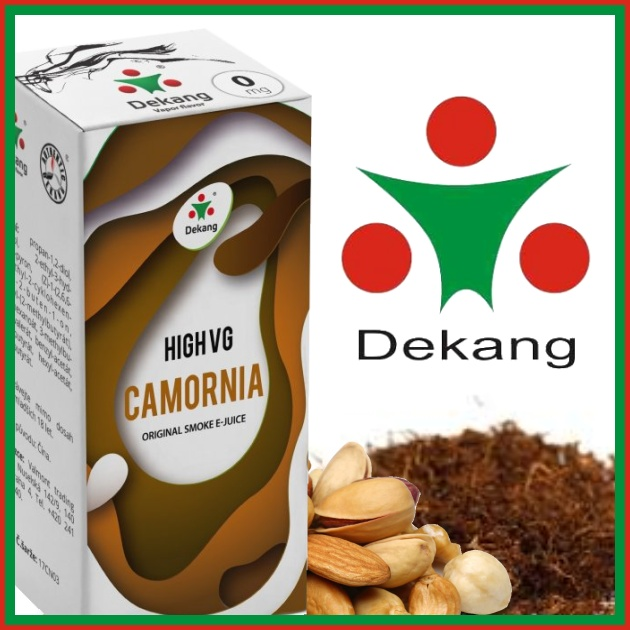 E-liquid DEKANG HIGH VG CAMORNIA 10ml / 3mg