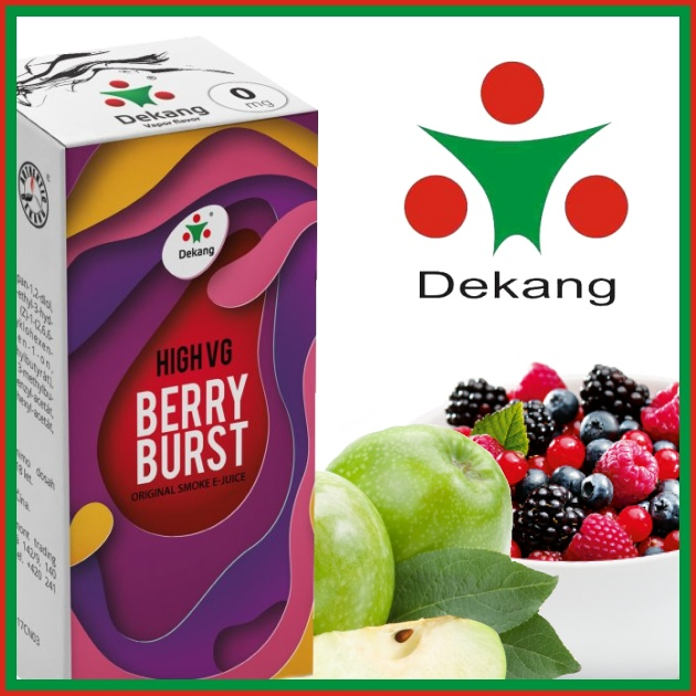 E-liquid DEKANG HIGH VG BERRY BURST 10ml / 6mg