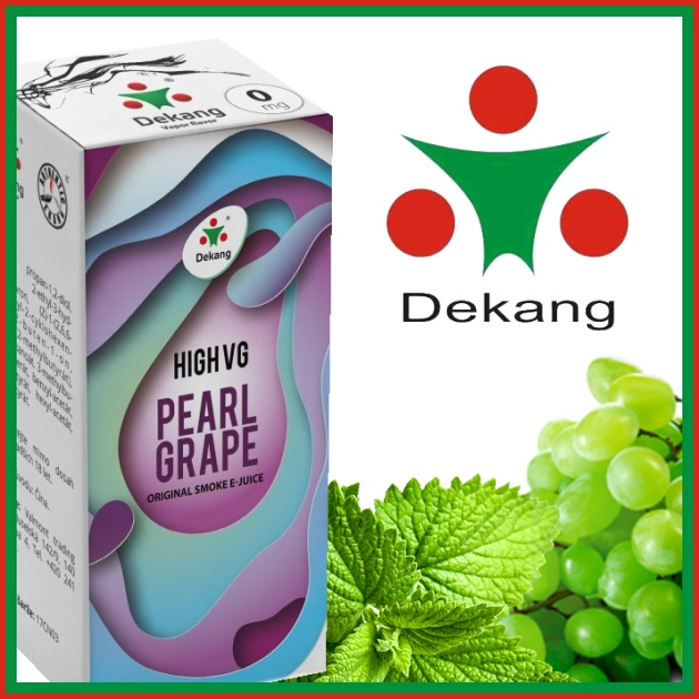 E-liquid DEKANG HIGH VG PEARL GRAPE 10ml / 6mg