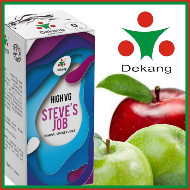 E-liquid DEKANG HIGH VG STEVE´S JOB 10ml / 6mg