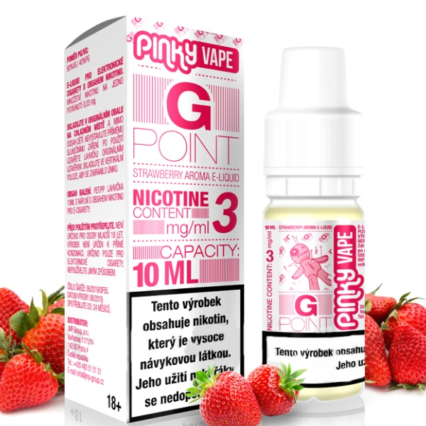 Pinky Vape G Point 18mg/10ml