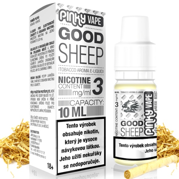 Pinky Vape Good Sheep 18mg/10ml