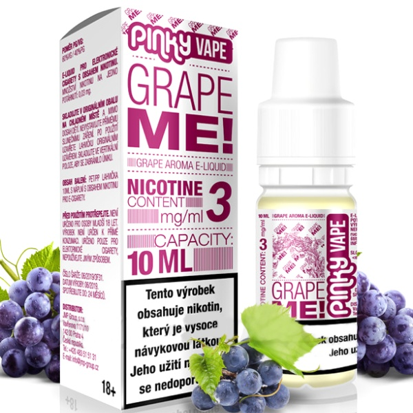 Pinky Vape Grape Me! 3mg/10ml
