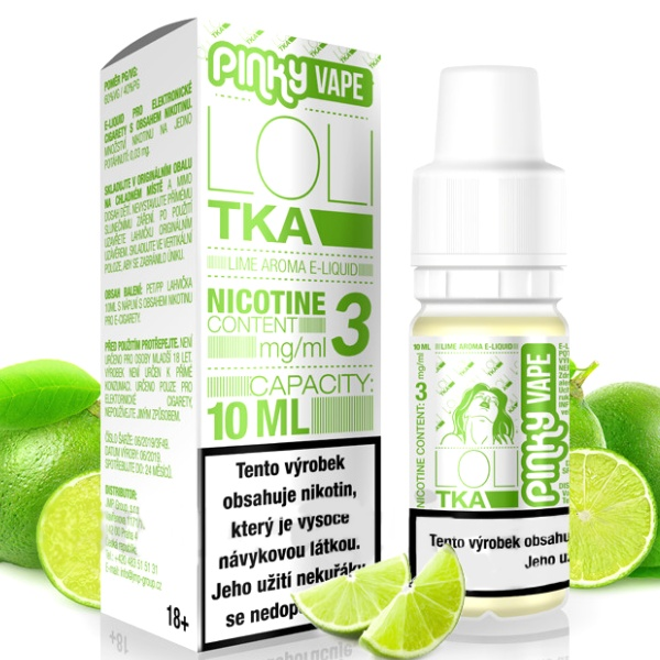 Pinky Vape Lolitka 3mg/10ml