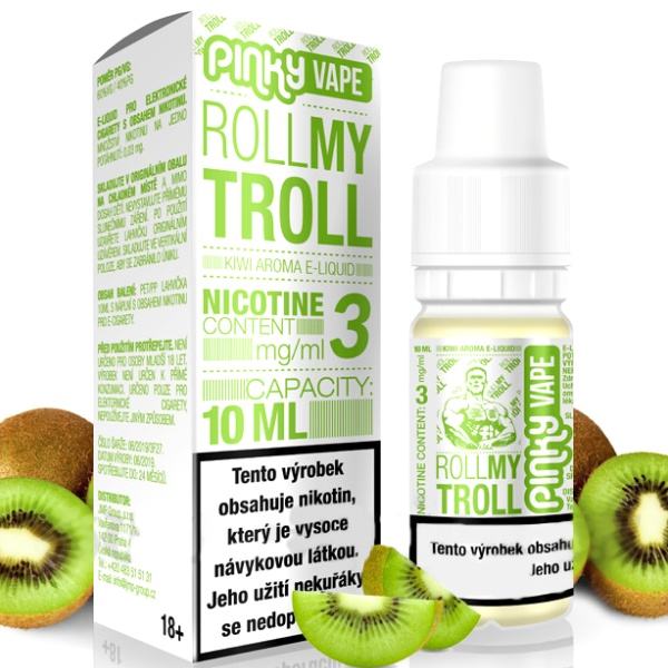 Pinky Vape Roll My Troll 18mg/10ml