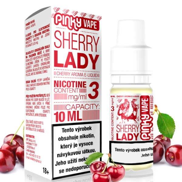 Pinky Vape Sherry Lady 3mg/10ml