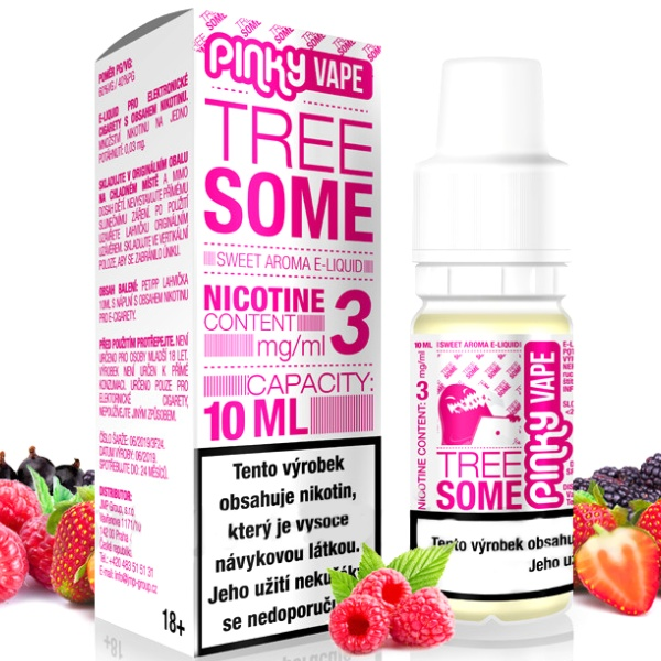 Pinky Vape Tree Some 3mg/10ml