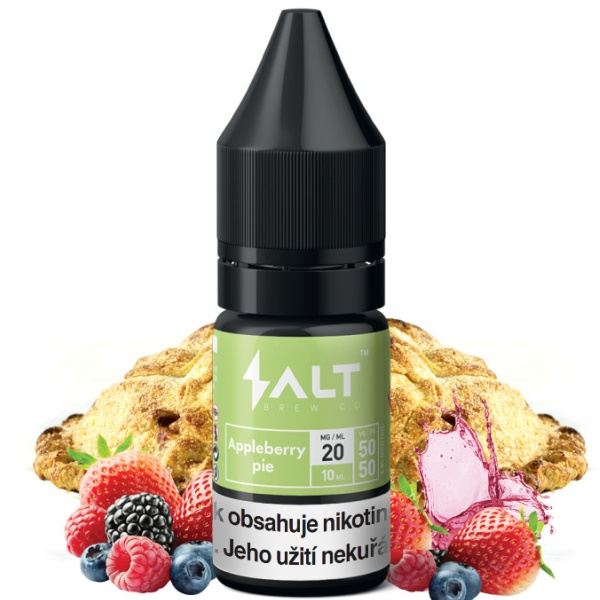Salt Brew Co 10ml / 10mg Appleberry Pie