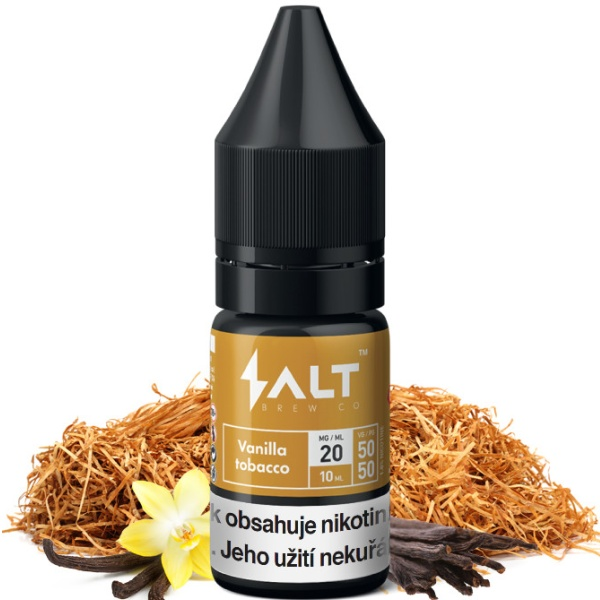 Salt Brew Co 10ml / 10mg Vanilla Tobacco
