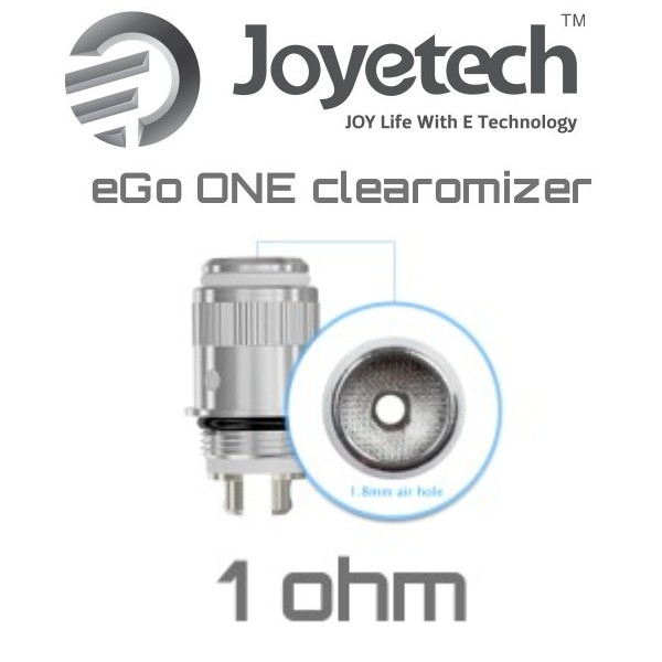 Joyetech atomizer eGo ONE 1,0 ohm 1ks