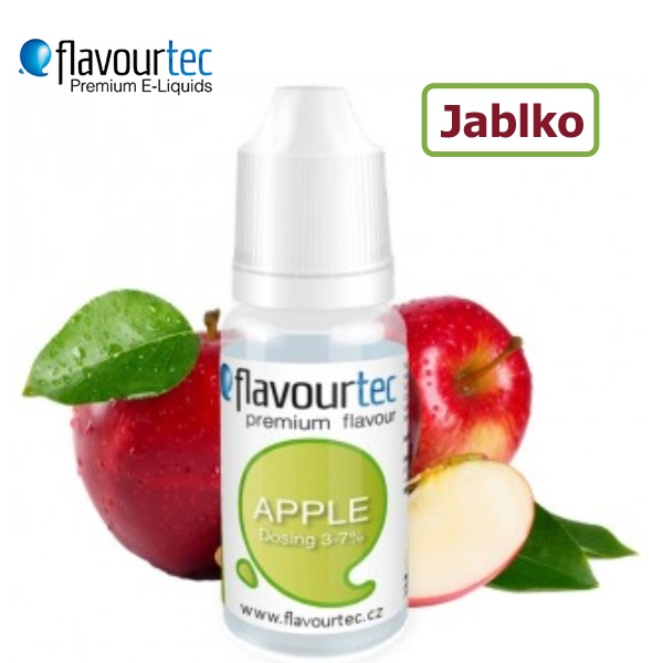 Flavourtec Jablko (Apple) 10ml
