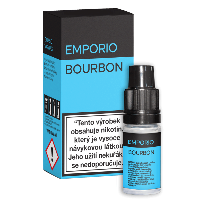 E-liquid EMPORIO Bourbon 12mg / 10ml