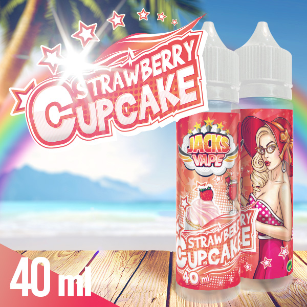Jacks Vape Strawberry Cupcake aroma shot 40 ml