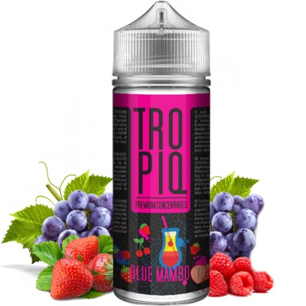 TROPIQ Shake and Vape 15ml Blue Mambo