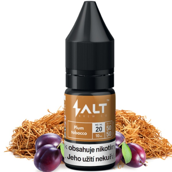 Salt Brew Co 10ml / 20mg Plum Tobacco