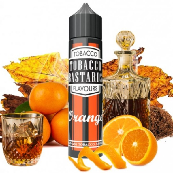 Flavormonks Tobacco Bastards Shake and Vape Orange Tobacco 12ml