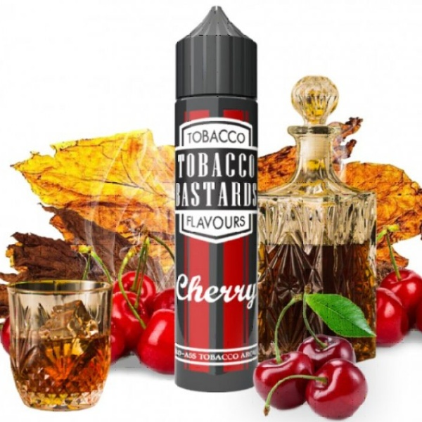 Flavormonks Tobacco Bastards Shake and Vape Cherry Tobacco 12ml