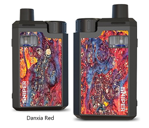 Hotcig Sniper 80W Pod Kit Danxia Red