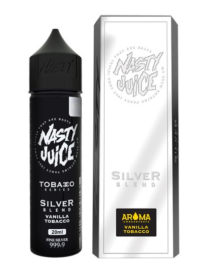 NASTY JUICE SILVER BLEND SnV 20ML