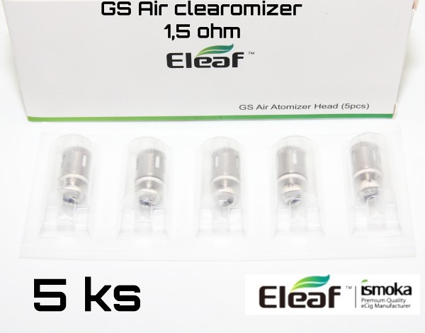 ISMOKA eleaf  GS Air žhavící hlaval 1,5 ohm 5 ks