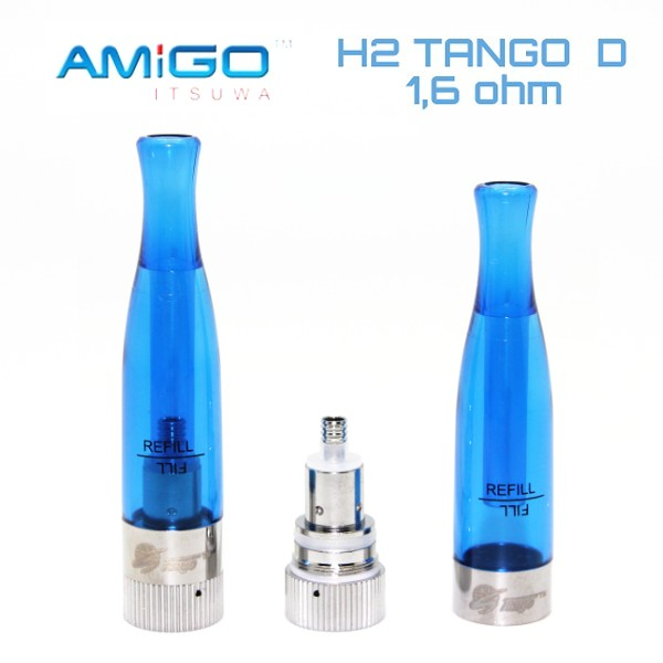 Clearomizer H2 TANGO D 1,6 ml  BVC Blue / modrý