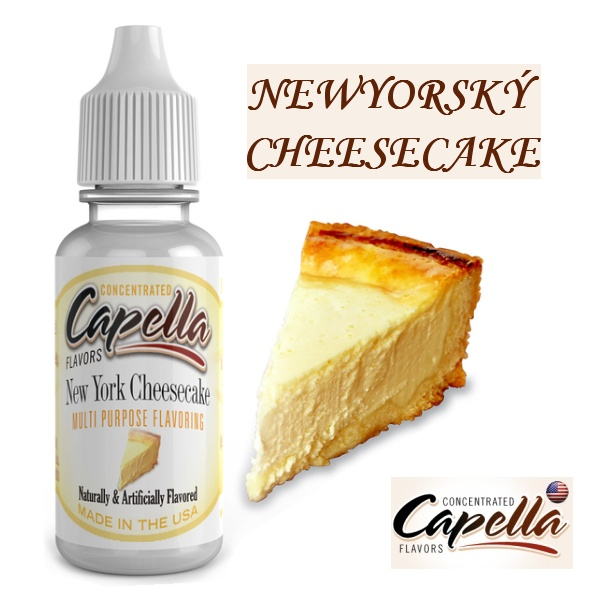 Capella flavors Newyorský Cheesecake V2 13ml