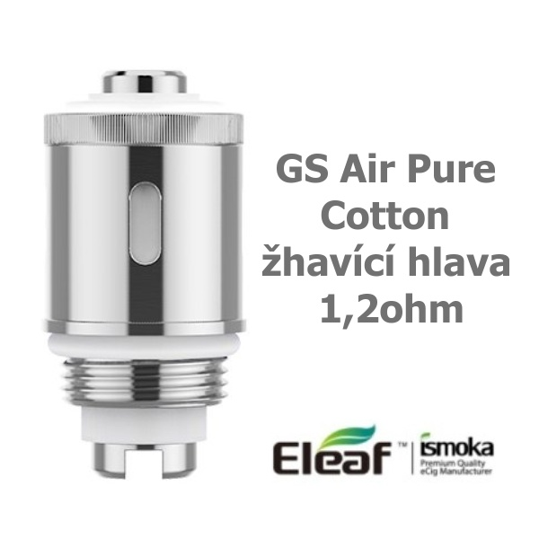 iSmoka-Eleaf GS Air Pure Cotton žhavící hlava 1,2ohm 1ks