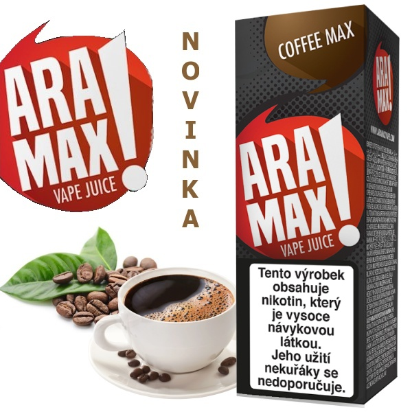 Liquid ARAMAX Coffee Max 10ml/3mg
