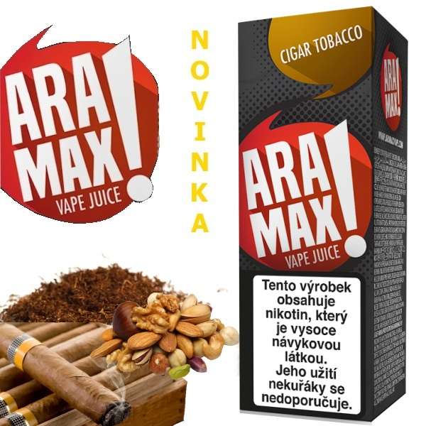 Liquid ARAMAX Cigar Tobacco 10ml/12mg