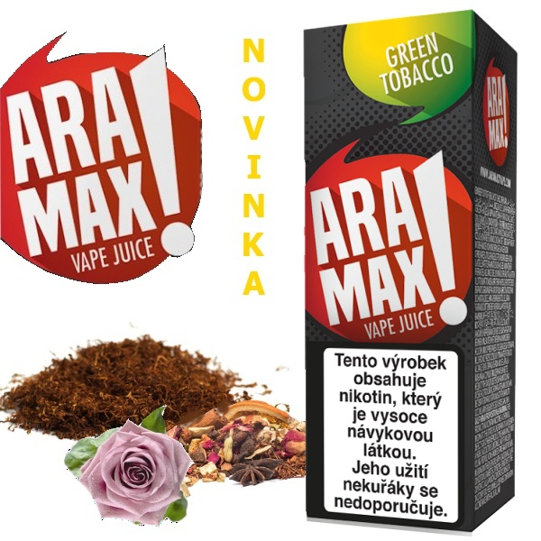 Liquid ARAMAX Green Tobacco 10ml/12mg