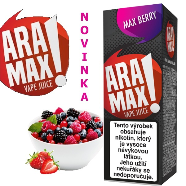Liquid ARAMAX Max Berry 10ml/18mg
