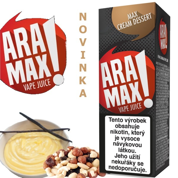 Liquid ARAMAX Max Cream Dessert 10ml/18mg