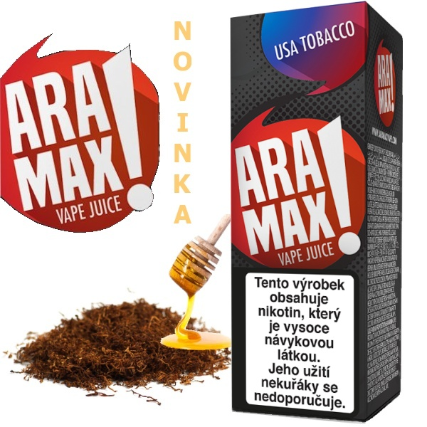 Liquid ARAMAX USA Tobacco 10ml/12mg