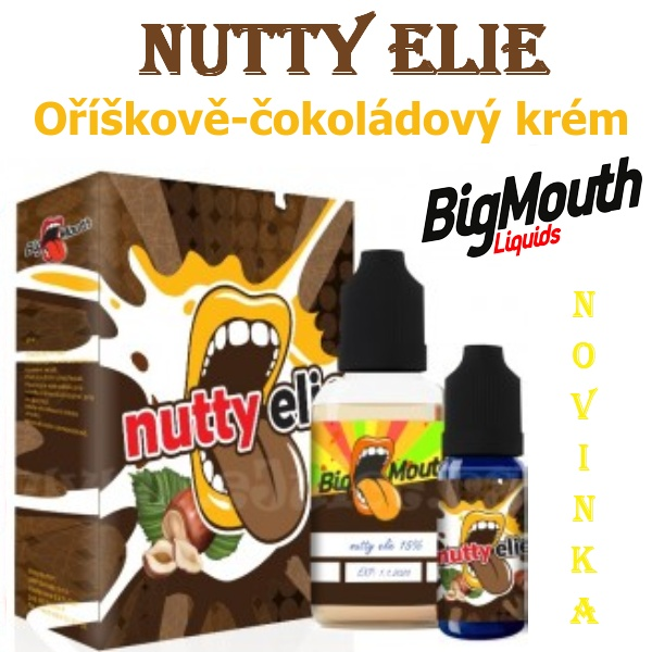 Big Mouth NUTTY ELIE aroma 10ml