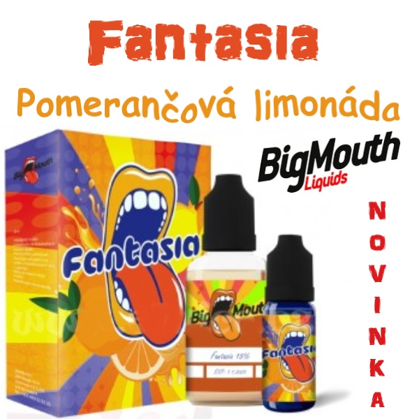 Big Mouth Fantasia aroma 10ml